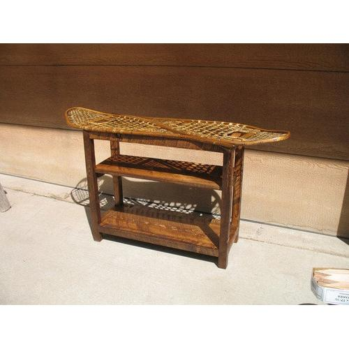 All Resort Furnishings - Snowshoe Console Table