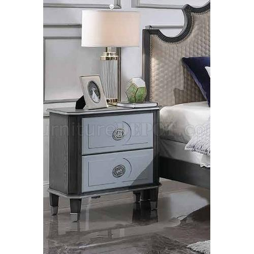 Acme Furniture Inc - House Marchesa 7PC Set: King Bed, Dresser, Mirror, Chest, Nightstand (28810)