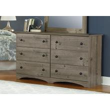 Weathered Grey Ash Perdue Dresser