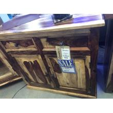 "Sideboard 36"" Sheesham Natural"