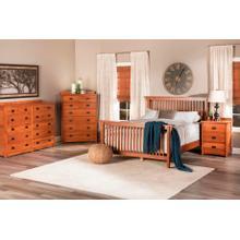 Product Image - American Mission Slat Bed in Quarter Sawn Oak Color #13