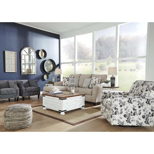 Abney Sofa Chaise Sleeper - Driftwood
