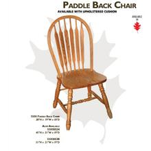 Paddle Back Chairs