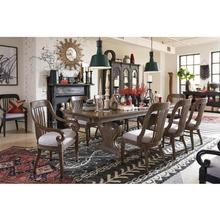 Magnussen Double Pedestal Dining Table with 6 Dining Chairs and Sliding Door China