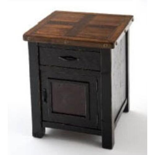 Green Gables - Stratford 1 Door 1 Drawer Nightstand