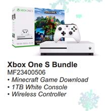 XBOX One S Bundle with Minecraft