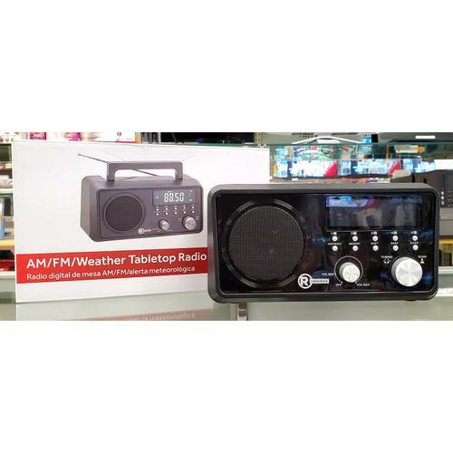 AM/FM/Weather Tabletop Radio