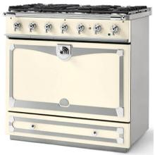Ivory Albertine 90 with Polished Chrome Accents