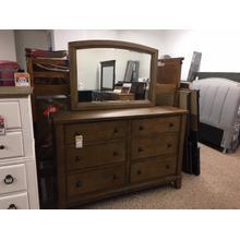 Dresser and Mirror Tamburg