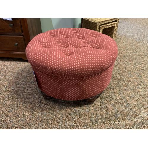 Tyndall Manor - Upholstered Ottoman Style No. 58