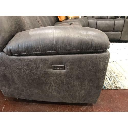 Charcoal Grey Sectional