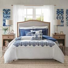 King Indigo Sky Comforter Set