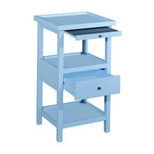Powell Palmer Ocean Blue Table With Shelf