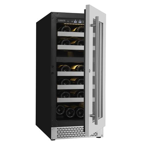 Cavavin - Vinoa Collection - Built-In/Freestanding Wine Cellar - 24 Bottles Capacity - Dual Zone