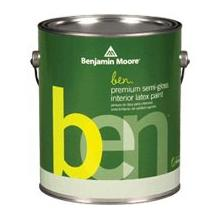 ben Waterborne Interior Paint - Semi-Gloss (W627)