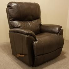 Trouper Leather Rocking Recliner