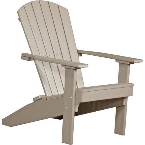 Lakeside Adirondack Chair Weatherwood