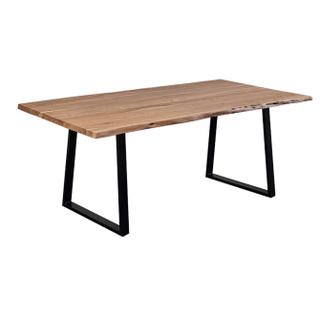 Manzanita Natural Dining Table Trapezoid