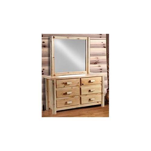 6-Drawer Rustic Dresser