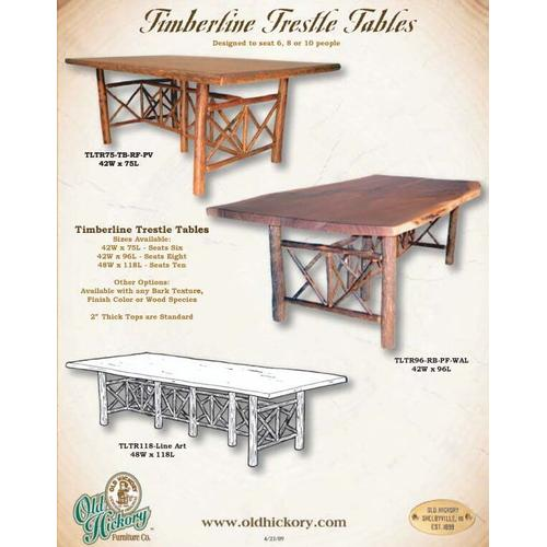 Timberline Trestle Tables