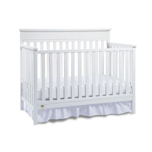Fisher-Price Newbury Convertible Crib, Snow White