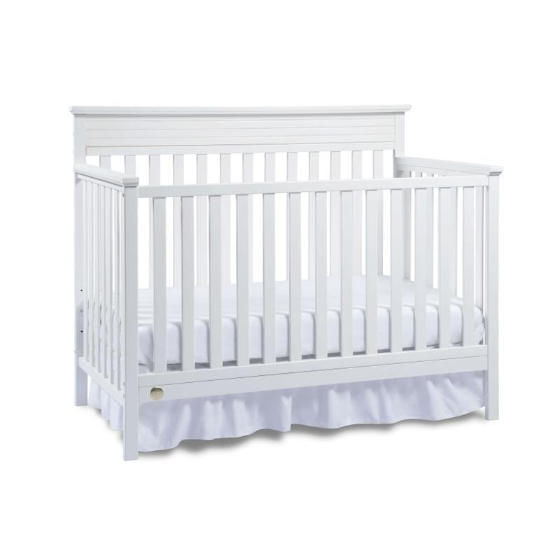View Product - Fisher-Price Newbury Convertible Crib, Snow White