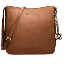 See Details - Michael Kors Jet Set Travel Large Leather Messenger Bag