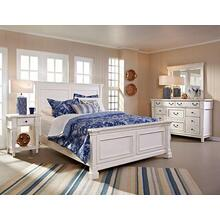 Stoney Creek King Panel Bed, Dresser, Mirror & 1 Drawer Nightstand