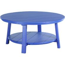 Deluxe Conversation Table Blue
