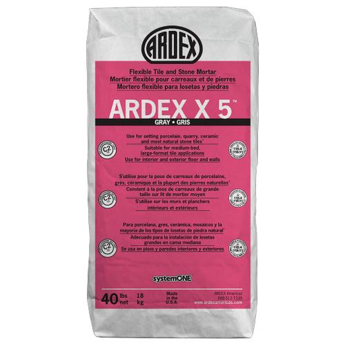 Ardex - ARDEX X5-40LBS-GRAY