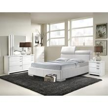 Generation Trade Furniture Balencia White 111100 Bedroom set Houston Texas USA Aztec Furniture