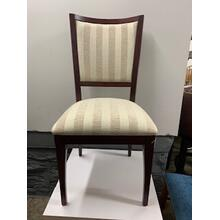 Solid Wood Side Chair with Padded Seat and Back