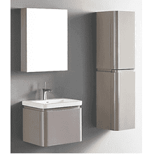 """Product Image - Euro24""""wall-hung vanity in silk"""