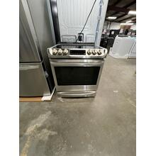 **ANKENY LOCATION** 6.3 cu. ft. Electric Slide-in Range with ProBake Convection® and EasyClean® **SCRATCH OR DING ITEM 1 YEAR WARRANTY **