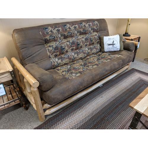 Best Craft Furniture - White Cedar Queen EZ Bed Futon (Pick Your Fabric!)