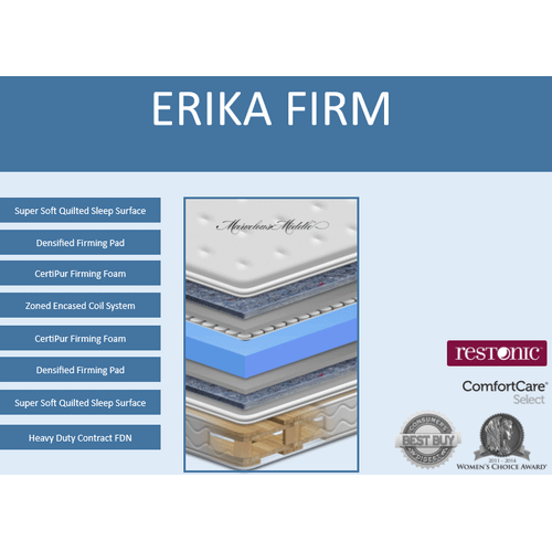 ERIKA FIRM FLIP MATTRESS