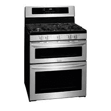 NEW OUT OF BOX MOD # FGGF304PDF-DS S/N 0002 Frigidaire Gallery 30'' Freestanding Gas Double Oven Range