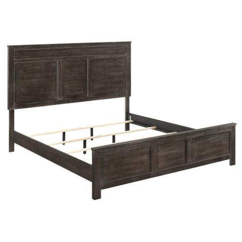 Andover 3-Piece Queen Size Bed in Nutmeg Finish