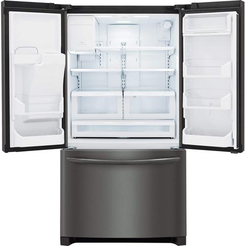 Frigidaire Gallery - Frigidaire Gallery 27.8 Cu. Ft. French Door Refrigerator in Black Stainless
