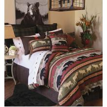 Queen Ontario Wilderness 5 PC. Comforter Set