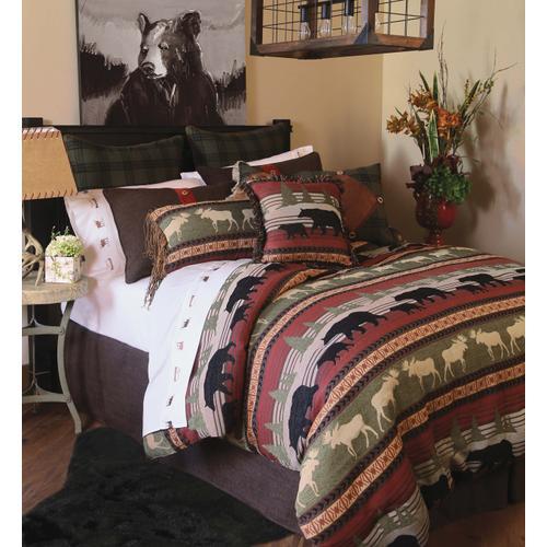 Queen Ontario Wilderness 5 PC. Comforter Set
