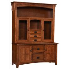 See Details - Larson Mission Hutch & Buffet