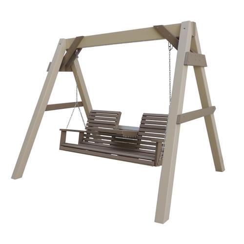 A-Frame W/5' Settee Rollback Swing