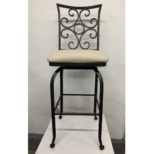 """Glen"" Swivel Bar Stool"