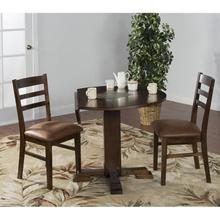 Santa Fe Drop Leaf Dining Table with 2 Chairs