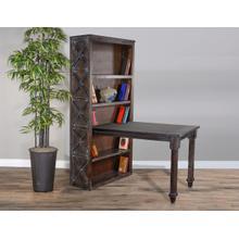 See Details - Rustic Bookcase Desk