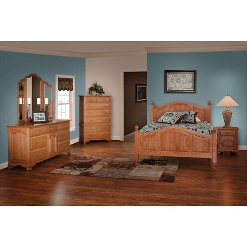 Crown Villa Collection- Panel Bed
