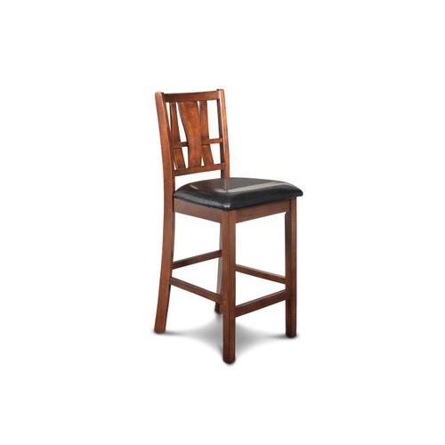 Dixon Counter Height Chair in Dark Espresso Finish