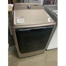 7.4 cu. ft. Electric Dryer with Steam Sanitize  in Champagne **OPEN BOX ITEM** Ankeny Location