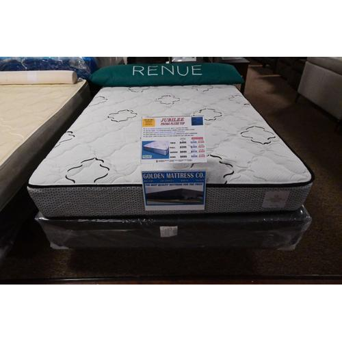 """Gallery - Jubilee: Promo Plush Top * No Flip Design * 13.5 Gauge High Profile * 1"""" Quilted Top Panel"""